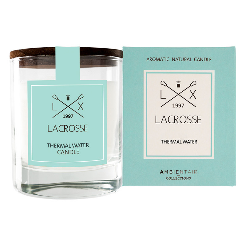 Ambientair Ароматическая свеча в стекле «Термальный источник» lacrosse круглая
