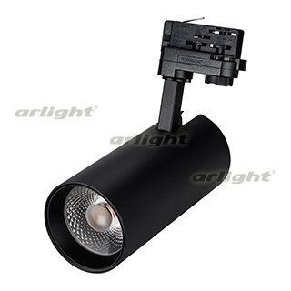 Arlight Светильник LGD-GERA-4TR-R90-30W Warm (BK, 24 deg) tr bk