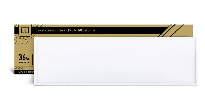 цена на LLT Панель сд LP-01-PRO 36Вт 230В 4000К 2700Лм 1195х295х8мм без ЭПРА БЕЛАЯ IP40 LLT