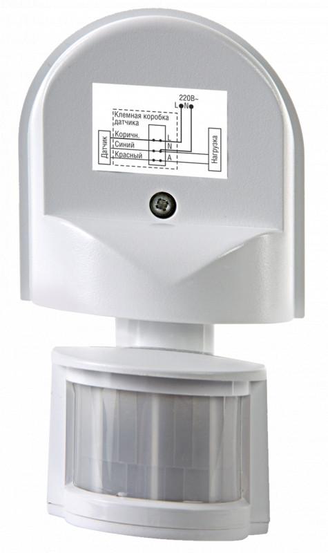 LLT Датчик движения ДД-008-W 1200Вт 180 гр.12м IP44 белый