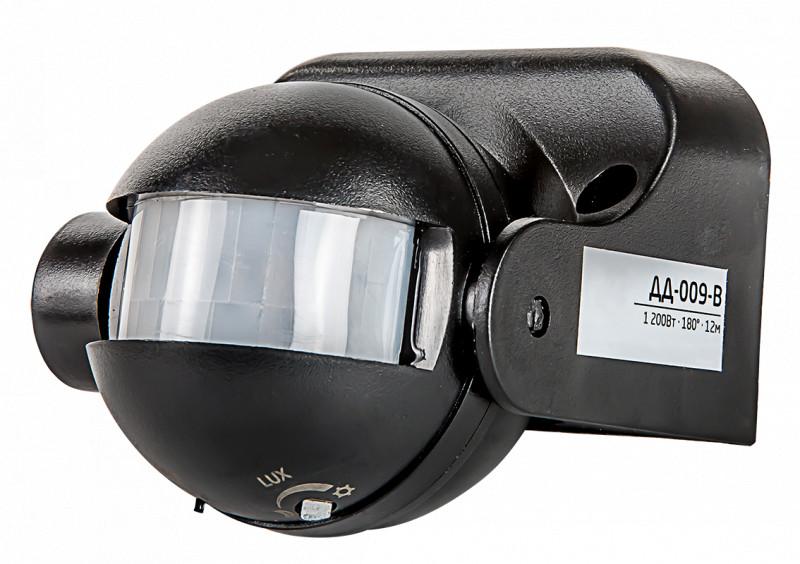 LLT Датчик движения ДД-009-B 1200Вт 180 гр.12м IP44 черный