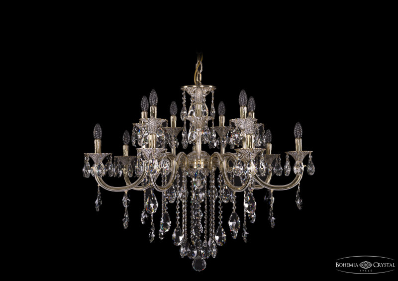 Bohemia Ivele Crystal 1702/7+7/300+150/B/GW bohemia ivele crystal люстра bohemia ivele crystal 1702 7 7 335 150 b gw