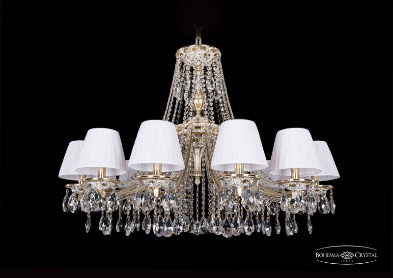 Bohemia Ivele Crystal 1771/12/340/A/GW/SH32-160 люстра подвесная bohemia ivele 1771 1771 12 340 a gw sh32