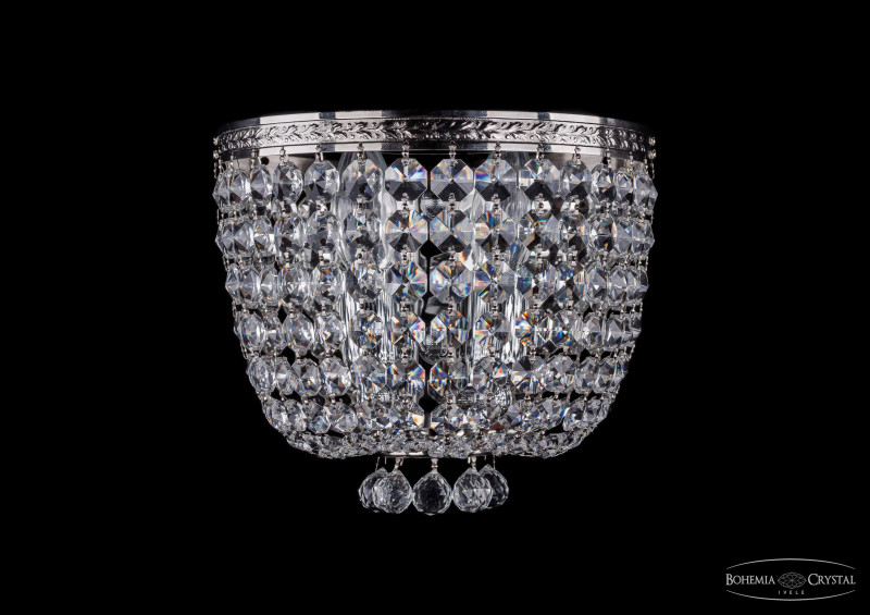 Bohemia Ivele Crystal 1928/2W/Ni серьги bohemia style цвет красный прозрачный 1248 7697 09