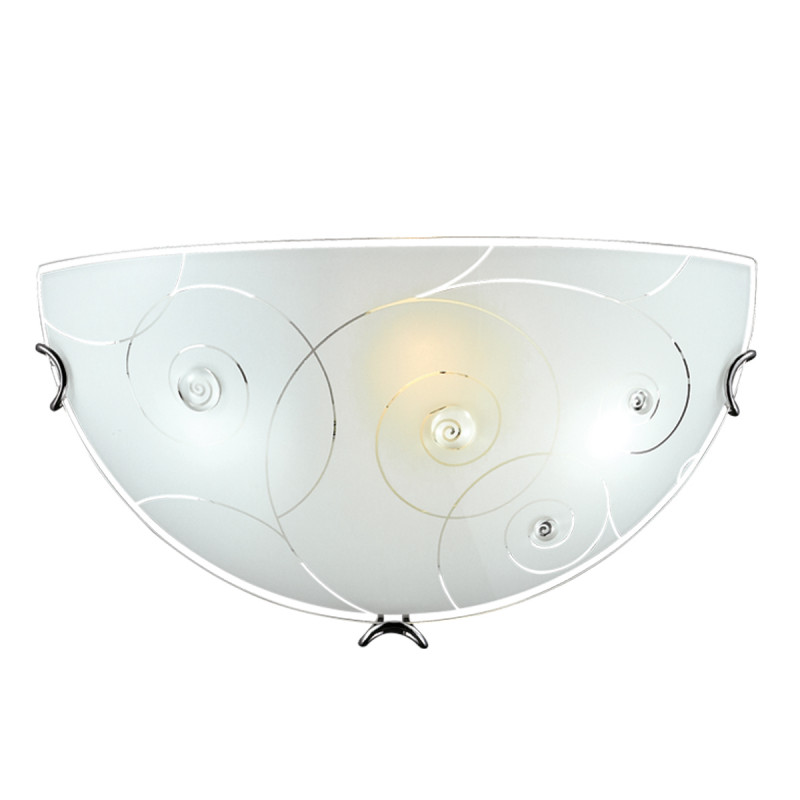 Sonex 047 SN15 041 хром/белый/декор прозрачн Бра E27 100W 220V KAPRI бра 2248 sonex