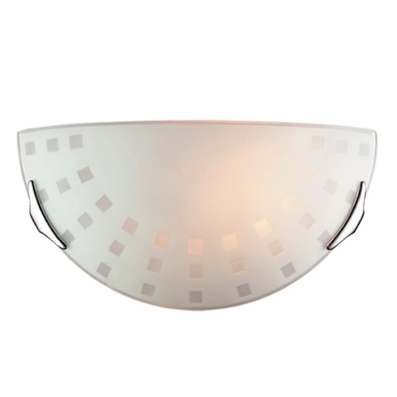 Sonex 062 FB06 049 хром Бра E27 100W 220V QUADRO WHITE бра sonex quadro white 062
