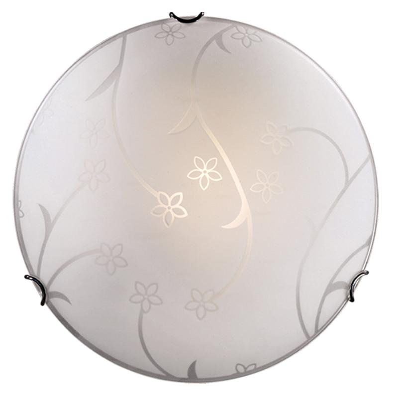 Sonex 210 FBR12 051 белый/хром Н/п светильник E27 2*100W 220V LUARO накладной светильник sonex luaro 010