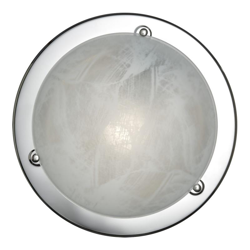 Sonex 222 SOK06 114 хром Н/п светильник E27 2*100W 220V ALABASTRO