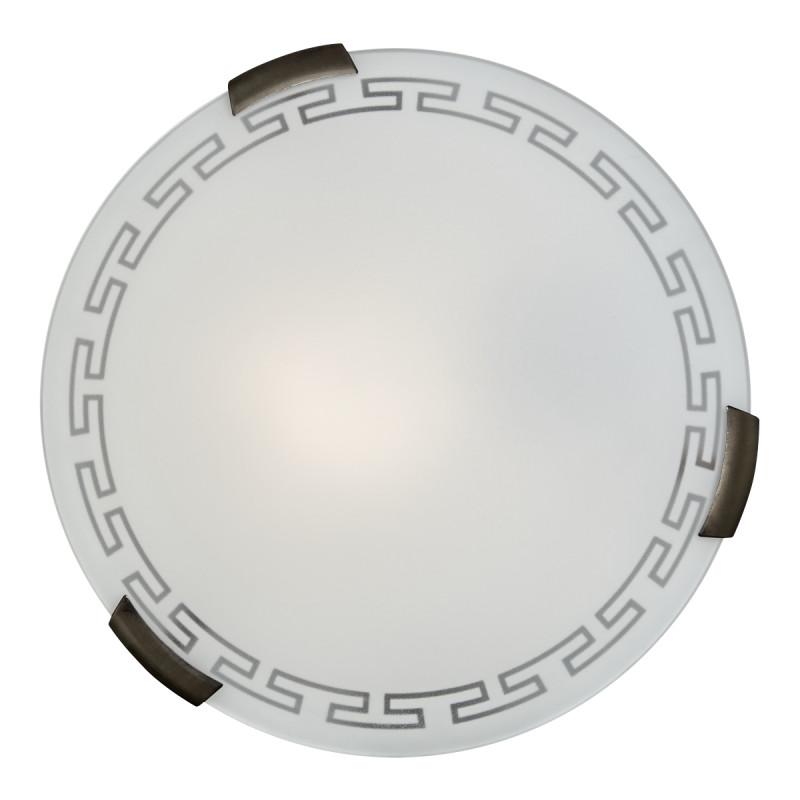 Sonex 261 FB06 051 бронза Н/п светильник E27 2*100W 220V GRECA настенный светильник sonex fari 051