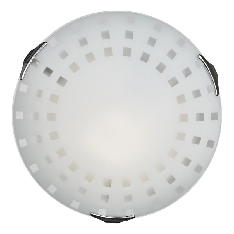 Sonex 262 FB06 049 хром Н/п светильник E27 2*100W 220V QUADRO WHITE бра sonex quadro white 062