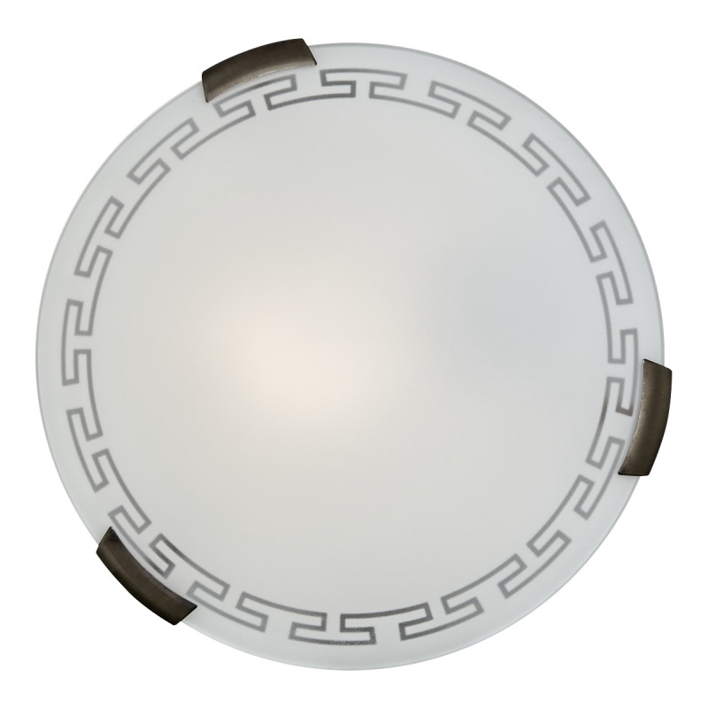 Sonex 361 FB06 051 бронза Н/п светильник E27 3*100W 220V GRECA sonex 060 fb06 051 т орех бронза бра e27 100w 220v greca wood