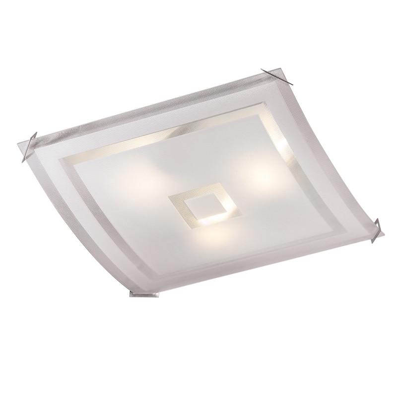 Sonex 4120 FBK06 091 белый/хром Потолочный светильник E27 4*60W 220V CUBE 4120 sonex