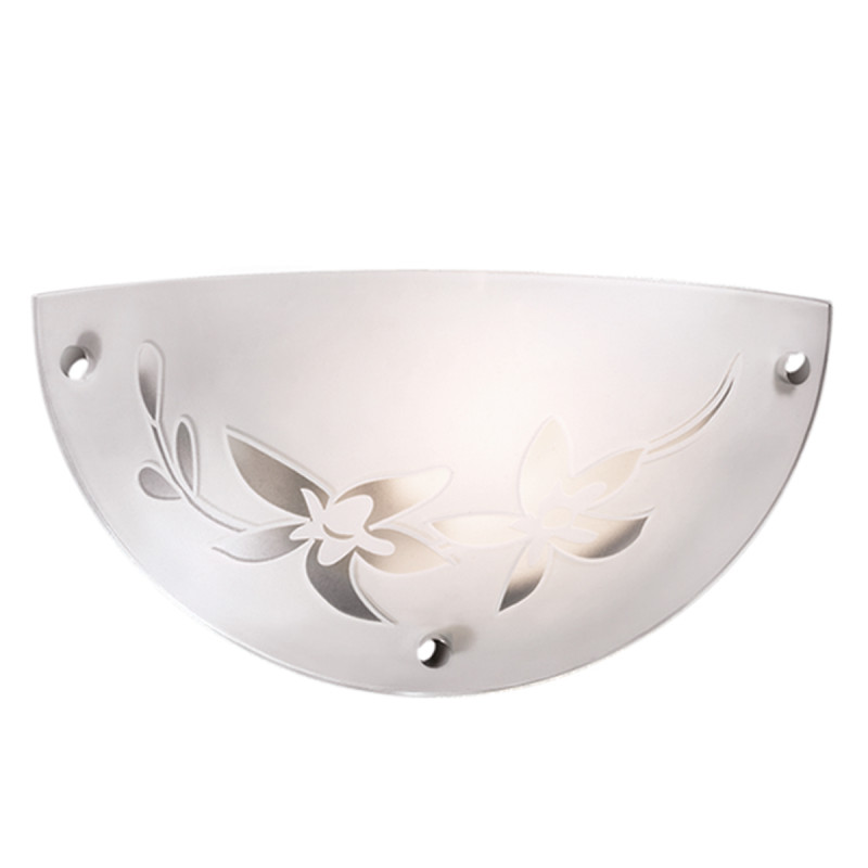 Sonex 1214/A FBD11 053 белый/хром Бра E27 60W 220V ROMANA светильник настенно потолочный sonex romana 1214 a