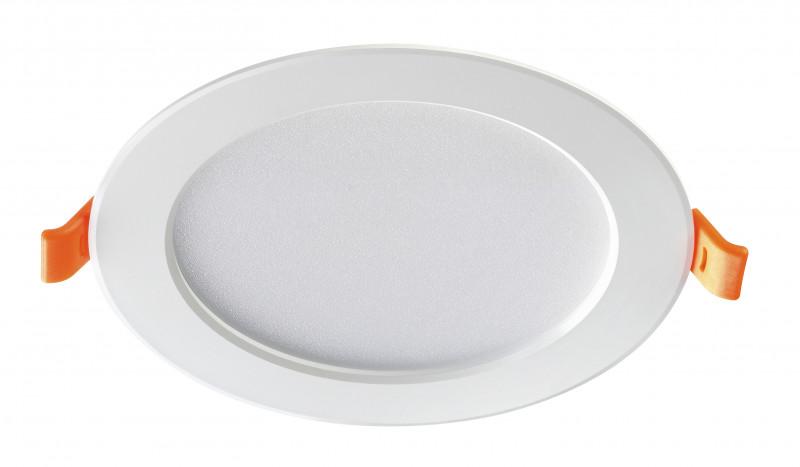 Novotech 357573 NT18 000 белый Встраиваемый светодиодный светильник 20LED 10W 175-265V LUNA домкрат alca 2т 437 000