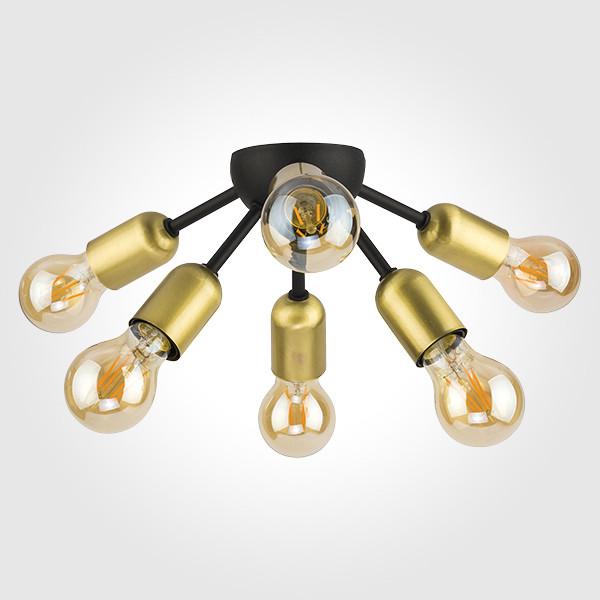 TK Lighting Потолочный светильник 1467 Estrella Black вставка ebesa angara estrella decor bronce 6 7x6 7