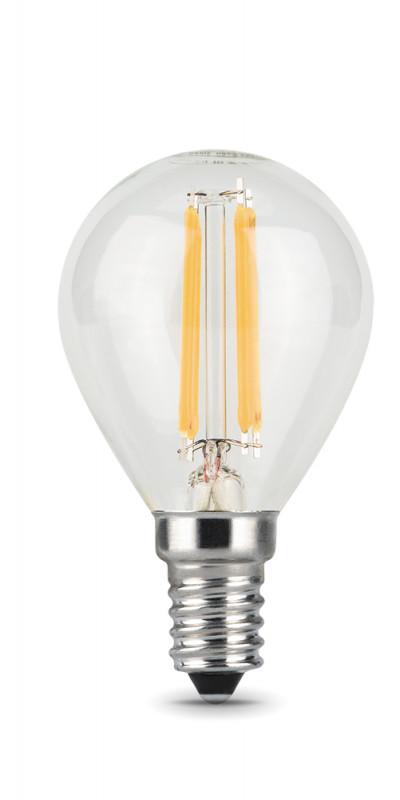 Gauss Лампа Gauss LED Filament Globe E14 9W 2700K 1/10/50