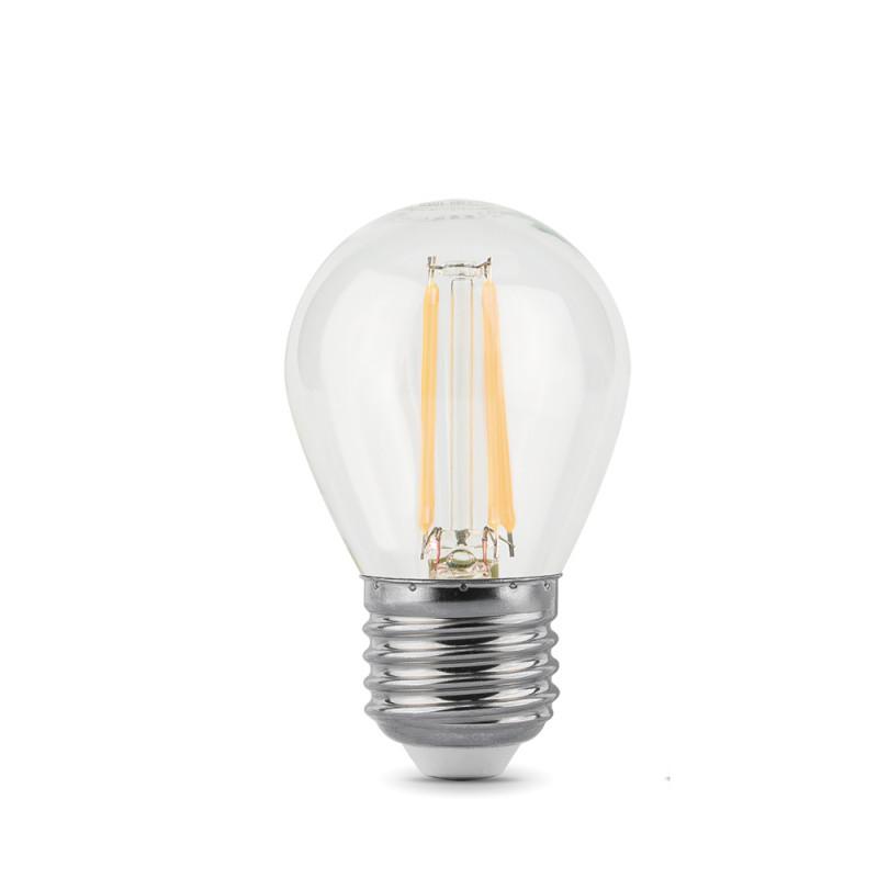 Gauss Лампа Gauss LED Filament Globe E27 9W 2700K 1/10/50
