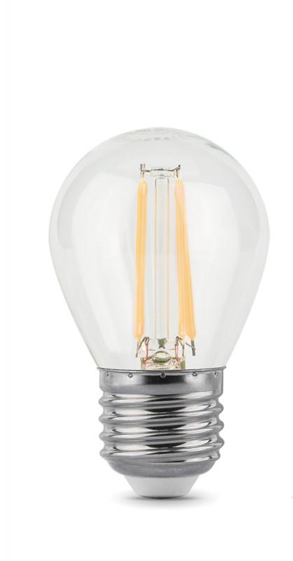 Gauss Лампа Gauss LED Filament Globe E27 9W 4100K 1/10/50