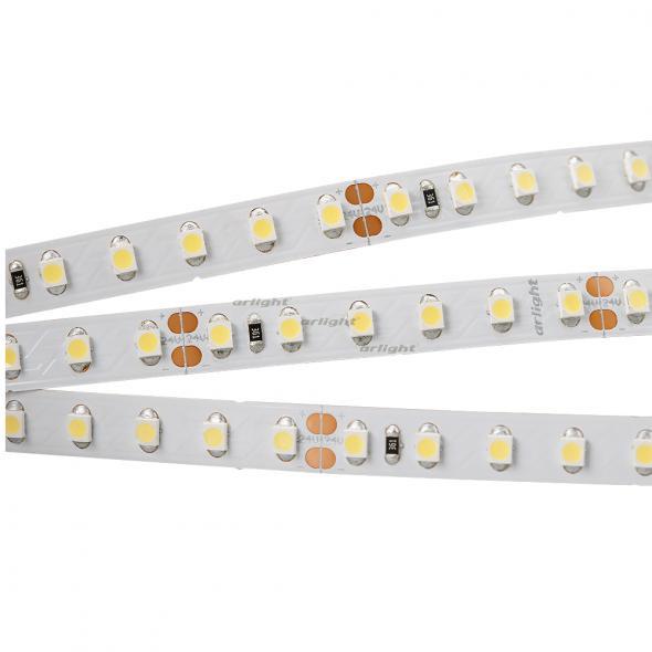 Arlight Лента 5 метров RT 2-5000 24V Cool 8K 2x (3528, 600 LED, LUX) лента arlight 015702