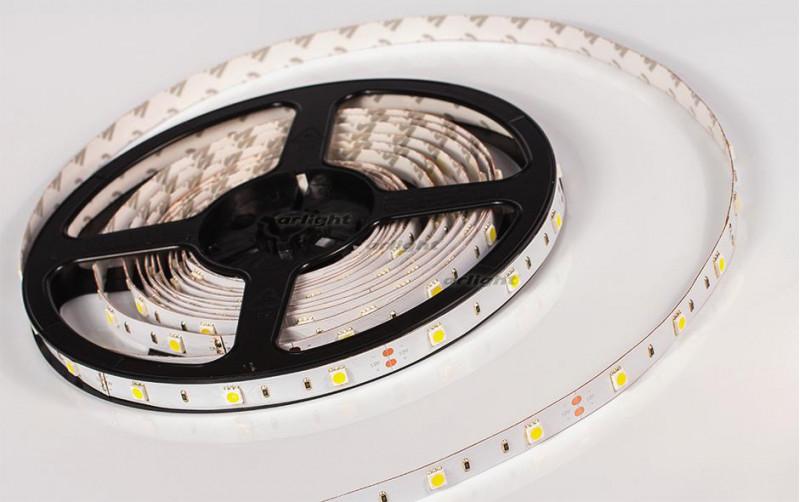 Arlight Лента 5 метров RT 2-5000 12V Cool 8K (5060, 150 LED, LUX) цена 2017