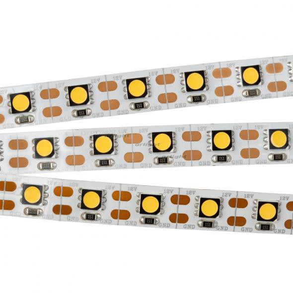 Arlight Лента 5 метров RT 2-5000 12V Cx1 Warm3000 2x (5060, 360 LED, CRI98)