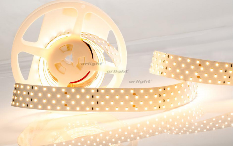 Arlight Лента 2,5 метра RT 2-2500 24V Day4000 4x2 (2835, 700 LED, LUX) цена 2017