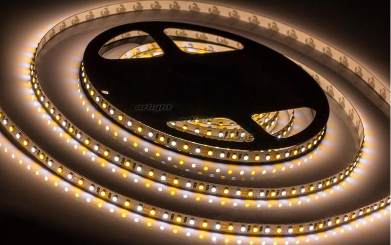 Arlight Лента 5 метров RT 2-5000 12V White-MIX 2x(3528,600 LED,LUX) лента arlight 015702