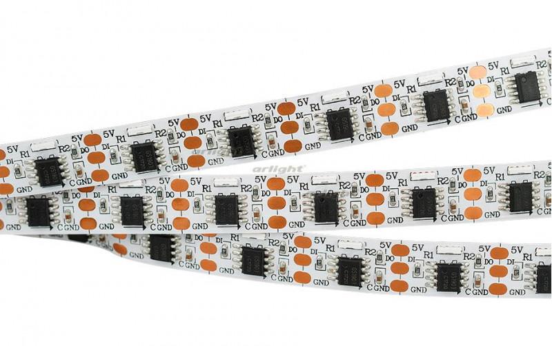 Arlight Лента 5 метров SPI-5000-Side 5V RGB (335, 300 LED x1,1903) лента arlight 013344