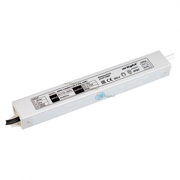 Arlight Блок питания ARPV-12045D (12V, 3.75A, 45W) arlight блок питания arpv lv12005 12v 0 4a 5w