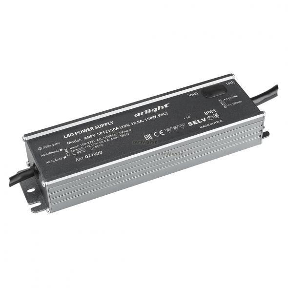 Arlight Блок питания ARPV-SP12150A (12V, 12.5A, 150W, PFC) arlight блок питания arpv lv12005 12v 0 4a 5w