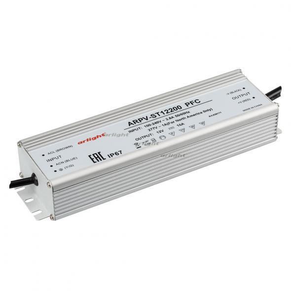 Arlight Блок питания ARPV-ST12200 PFC (12V, 16A, 192W) блок выключателей 16a 86