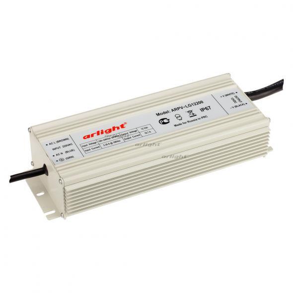 Arlight Блок питания ARPV-LG12200 (12V, 16.7A, 200W, PFC) блок питания crixled crp vn200 12 16 5a 200w 12v