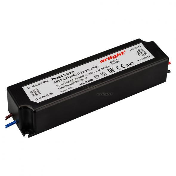 Arlight Блок питания ARPV-LV12060 (12V, 5A, 60W) linvel lv 8870 5