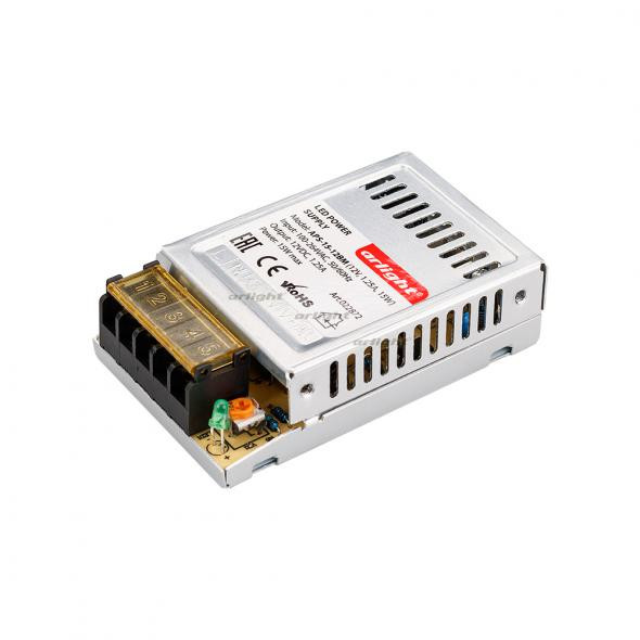 Arlight Блок питания APS-15-12BM (12V, 1.25A, 15W) arlight блок питания aps 100l 12bm 12v 8 3a 100w