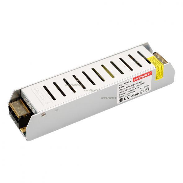 Arlight Блок питания APS-100L-12BM (12V, 8.3A, 100W) arlight блок питания aps 100l 12bm 12v 8 3a 100w