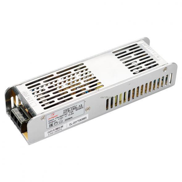 Arlight Блок питания HTS-150L-12 (12V, 12.5A, 150W) arlight блок питания hts 150 24 fa 24v 6 5a 150w