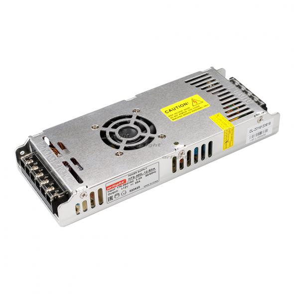 Arlight Блок питания HTS-300L-12-Slim (12V, 25A, 300W) arlight блок питания hts 150 24ls 24v 6 25a 150w
