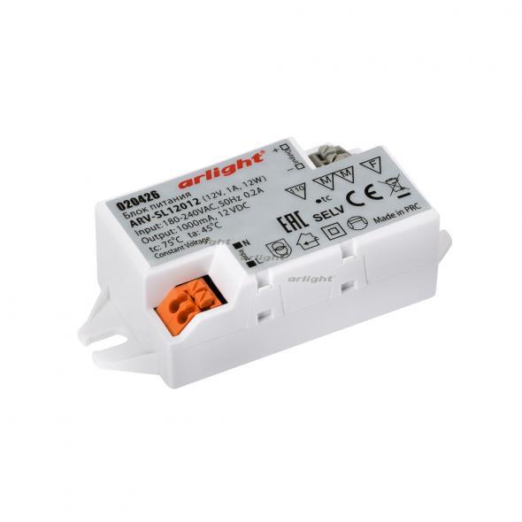 Arlight Блок питания ARV-SL12012 (12V, 1A, 12W) aiunci 12v 1a