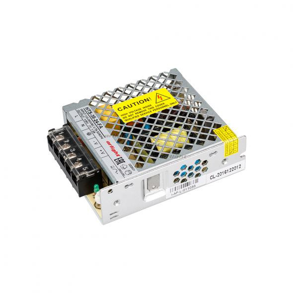 Arlight Блок питания HTS-35-24-FA (24V, 1.5A, 35W) arlight блок питания hts 150 24 fa 24v 6 5a 150w