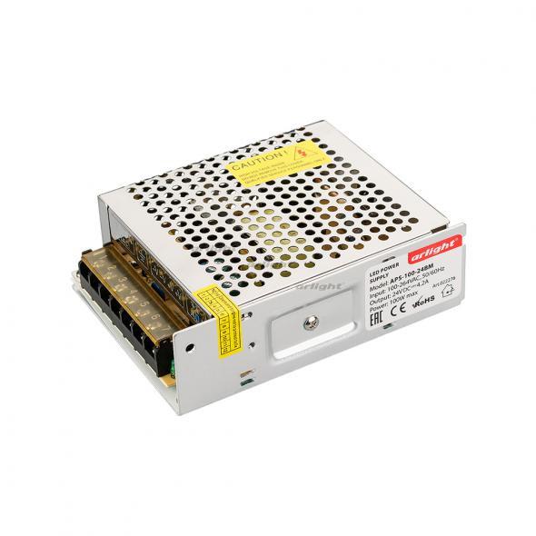 Arlight Блок питания APS-100-24BM (24V, 4.2A, 100W) 1pc 100w canbus bau15s py21w error free 1156py amber yellow 20 led 3030smd 7507 ac12v 24v