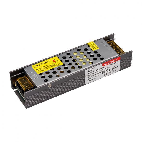 Arlight Блок питания APS-100LN-24BM (24V, 4.2A, 100W) 1pc 100w canbus bau15s py21w error free 1156py amber yellow 20 led 3030smd 7507 ac12v 24v