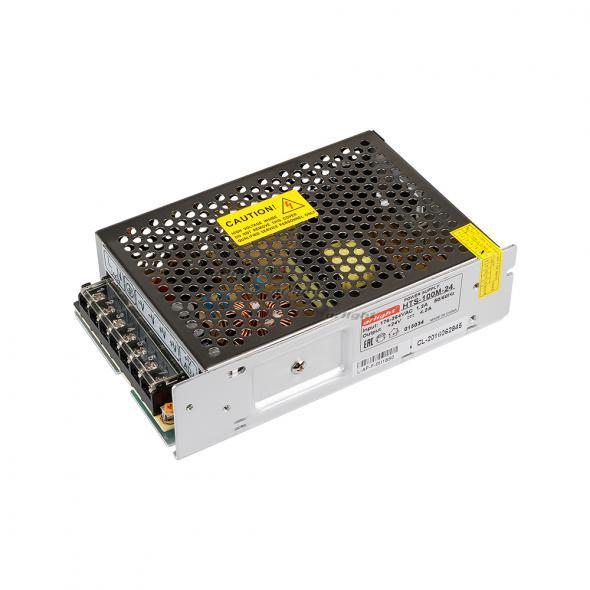 Arlight Блок питания HTS-100M-24 (24V, 4.2A, 100W) 1pc 100w canbus bau15s py21w error free 1156py amber yellow 20 led 3030smd 7507 ac12v 24v