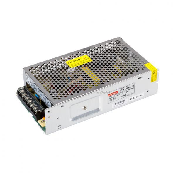 Arlight Блок питания HTS-150-24 (24V, 6.2A, 150W) arlight блок питания hts 150 24 fa 24v 6 5a 150w