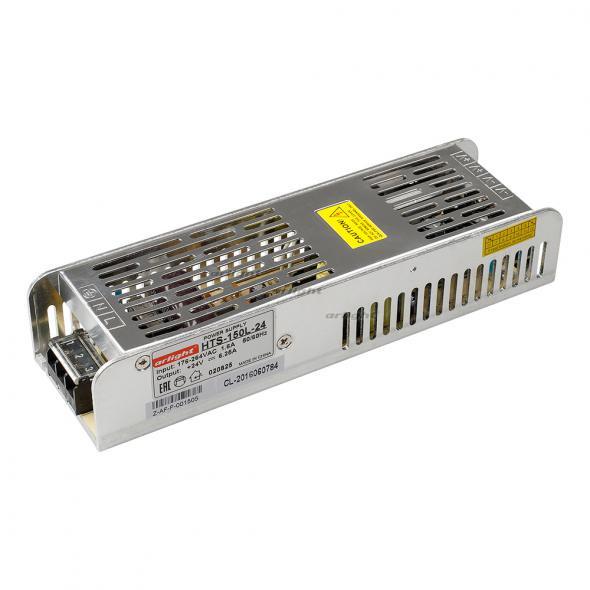 Arlight Блок питания HTS-150L-24 (24V, 6.25A, 150W) arlight блок питания hts 150 24 fa 24v 6 5a 150w