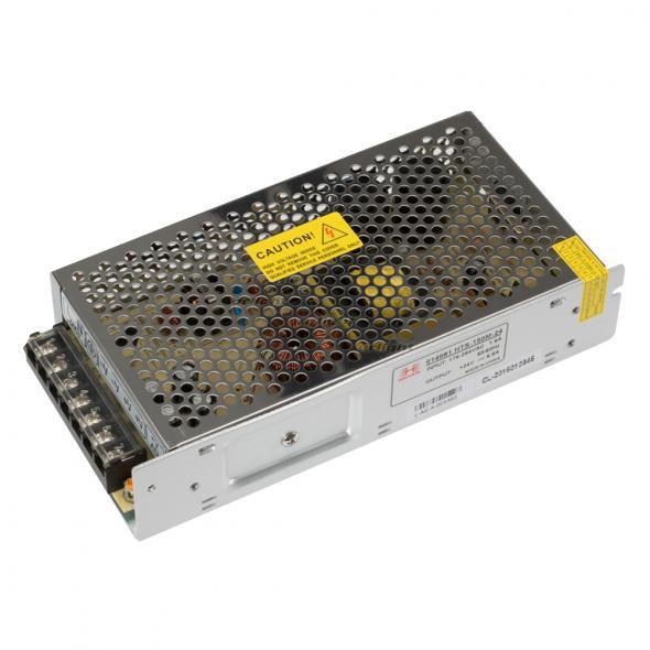 Arlight Блок питания HTS-150M-24 (24V, 6.5A, 150W) arlight блок питания hts 150 24ls 24v 6 25a 150w