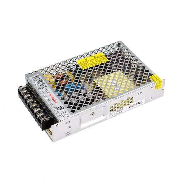 Arlight Блок питания HTS-150-24-FA (24V, 6.5A, 150W) arlight блок питания hts 150 24 fa 24v 6 5a 150w