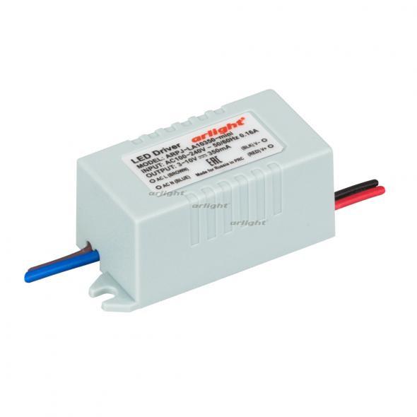 Arlight Блок питания ARPJ-LA10350-mini (3.5W, 350mA) контроллер arlight блок питания arpj lm421400 60w 1400ma