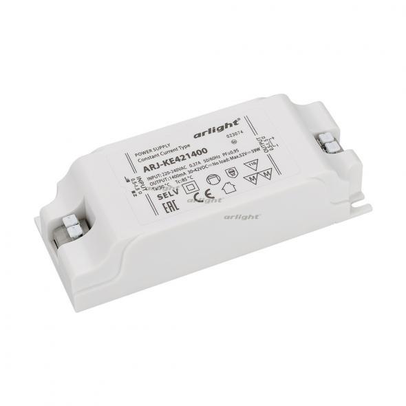 Arlight Блок питания ARJ-KE421400 (60W, 1400mA, PFC) контроллер arlight блок питания arpj lm421400 60w 1400ma