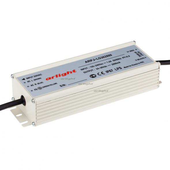 Arlight Блок питания ARPJ-LG362800 (100W, 2800mA, PFC) контроллер arlight блок питания arpj lm421400 60w 1400ma