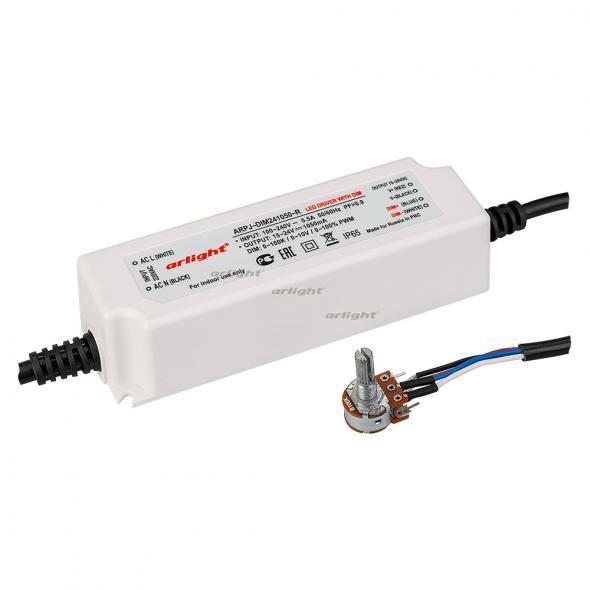 Arlight Блок питания ARPJ-DIM241050-R (25W, 1050mA, 0-10V, PFC) контроллер arlight блок питания arpj lm421400 60w 1400ma